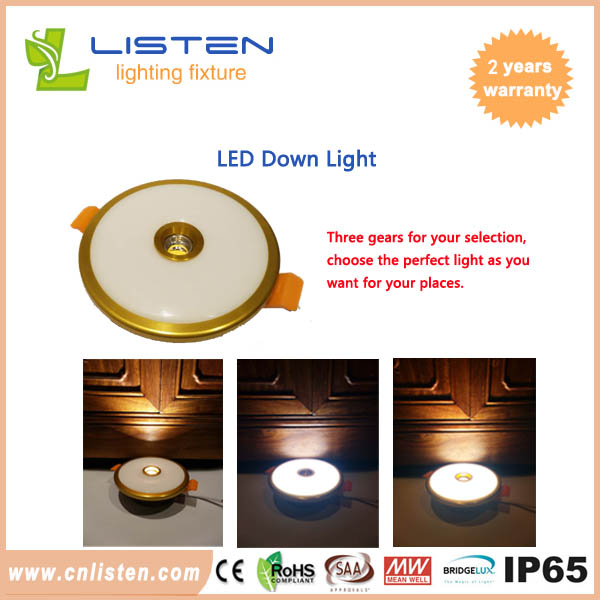 LED Downlight 3W/7W/10W combined