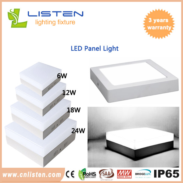 LED panel light 6W~24W