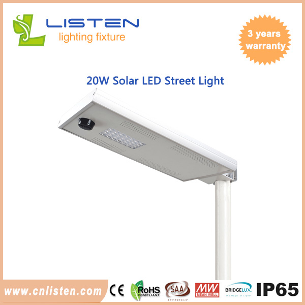 20W solar street light with remote